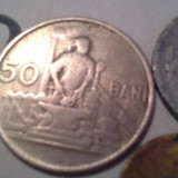 50 BANI 1955 +CADOU 2 MONEDE/2 - Moneda Romania