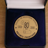 MD2 - MILITARA - OMAGIEREA REVISTEI POLITIEI DE FRONTIERA - 2000 - Medalii Romania