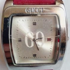 Ceas Gucci, curea din silicon Roberto Toretta - Ceas dama Gucci, Elegant, Quartz, Inox, Analog, 2000 - prezent