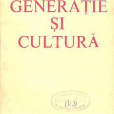 Certificare - Constantin Schifirnet - Generatie si cultura - 21986