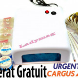 KIT UNGHII FALSE  STARTER, set manichiura gel UV, Nail Art