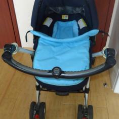 Carut JANE SOLO MATRIX - Carucior copii 3 in 1 Jane, Pliabil, Altele, Maner reversibil