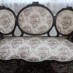 Salon Victorian, sec 19 - Mobilier, Sufragerii si mobilier salon, Biedermeier, 1900 - 1949
