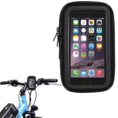 Suport husa bicicleta impermeabila waterproof pentru iPhone 6 (4, 7
