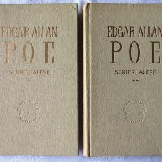 SCRIERI ALESE - 2 vol., Edgar A. Poe, 1963. Col. CLASICII LITERATURII UNIVERSALE - Carte Literatura Engleza