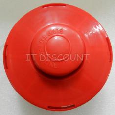 Tambur mosor cu fir rosu motocositoare 10mm pas 1.25