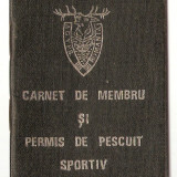 Pasaport/Document - PERMIS PESCUIT 1