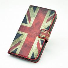 Husa, Nokia Lumia 520, Rosu, Piele Ecologica, Toc - Toc piele ecologica flip Nokia Lumia 520 + folie protectie ecran