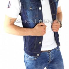 Vesta de blugi tip ZARA - vesta barbati - vesta slim fit - vesta fashion - 4470