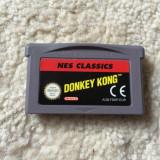 Jocuri Game Boy - Joc Nintendo Game Boy Advance DONKEY KONG NES CLASSICS EUR