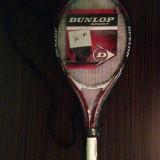 Racheta tenis de camp Dunlop, Performanta, Copii, Carbon/Bazalt - Racheta Tenis Dunlop