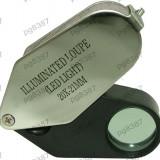 Lupa bijutier, iluminare cu LED, 20x- 113452