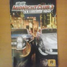 Manual - Midnight Club 3 Dub Edition - Playstation PS2 ( GameLand ), Alte accesorii