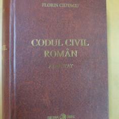 Carte Drept civil - Codul civil roman adnotat Bucuresti 2001