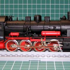 Macheta Feroviara, 1:87, HO, Locomotive - Locomotiva abur BR55 scara HO(4001)
