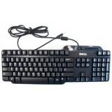 Tastatura DELL, model: card reader, layout: NOR, NEGRU, USB