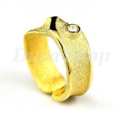 Inel placat cu aur 22k model 510 - Inel placate cu aur