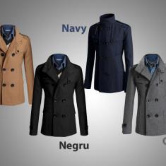 Palton barbati - Palton/paltoane barbati gen Zara primavara-toamna. 4 Culori Dif. COLECTIA 2016