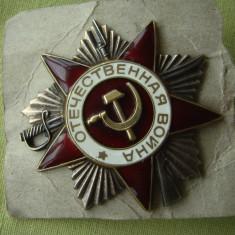 URSS - Ordinul pentru Razboiul Patriotic Clasa a II a - 20 mai 1942