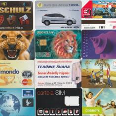 Lot 12 cartele diverse - Cartela telefonica romaneasca