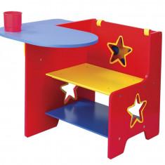 Set mobila copii - Birou din lemn pentru copii Alex Toys