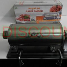 Masina De Facut Carnati Micul Fermier 4kg INOX 4 palnii YG-2008PA