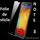 FOLIE STICLA Samsung Galaxy NOTE 3 0.33mm, 2.5D tempered glass antisoc protectie - Folie de protectie Samsung, Anti zgariere