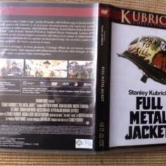 Full Metal Jacket 1987 dvd stanley kubrick movie film warner bros - Film Colectie warner bros. pictures, Engleza