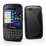 Husa BlackBerry Q5 Silicon Gel Tpu S-Line Neagra - Husa Telefon