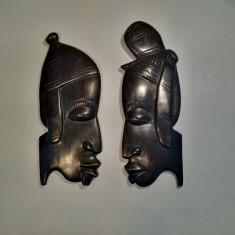 Arta din Lemn - Masti Hand-Made Lemn Eben(Abanos)