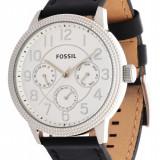 Ceas barbatesc Fossil, Elegant, Quartz, Inox, Piele, Rezistent la apa - Fossil BQ1503