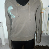 Bluza de dama, femei, bluza, cu gluga, M, moderna, SCCX. COMANDA MINIMA 30 LEI! - Bluza dama, Marime: M, Culoare: Maro, Maneca lunga, Casual, Bumbac