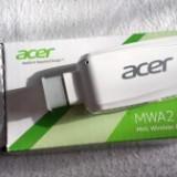 Adaptor wi-fi ACER WIRELESS model MWA2 MHL HDMI Miracast - Adaptor wireless