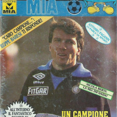 Revista INTER Squadra mia nr. 26/1992 / Matthaus Klinsmann Fiorello Bergomi