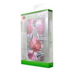 Husa Telefon - Husa Allview V1 Viper S 3G Procell Silicon Imprimat P58 Zebra Flowers