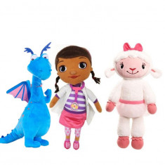 Doctorita Plusica, Oita si Dragonel - Jucarii plus Disney