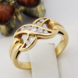 Inel aur 18k, Diamante, 3.15 grame