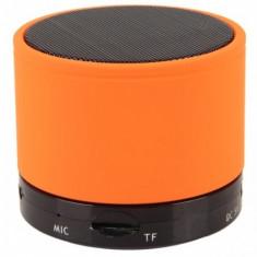 Boxe Telefon - ChinaTech Mini Boxa Bluetooth cu MP3 pentru Telefoane Mobile Portocaliu