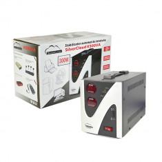Resigilat - Stabilizator de tensiune SilverCloud 500VA 300W - UPS