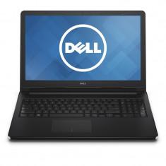 Dell Laptop DELL 15.6'' Inspiron 3552 (seria 3000), HD, Procesor Intel® Pentium® N3700 1.6GHz Braswell, 4GB, 500GB, GMA HD, Linux, Black