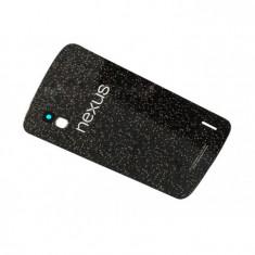 Capac baterie - Capac carcasa LG Nexus 4 E960 negru