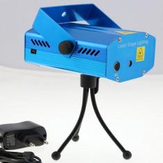 Laser lumini club - Laser Disco Senzor muzica + TREPIED
