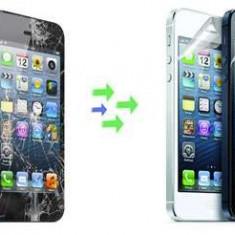 Inlocuire Geam Sticla iPhone 5s Negru - Reparatie telefon