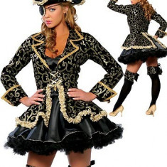 J31 Costum tematic de pirat - corsar - Costum Halloween, Marime: M, S/M