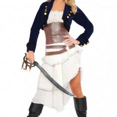 H147 Costum Halloween pirat, Marime: S/M