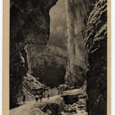 CHEILE BICAZULUI ANIMATA, FOTOGRAF AMBRUS, NR20, BEKAS SZOROS POKOL TORKA - Carte Postala Transilvania dupa 1918, Circulata, Fotografie