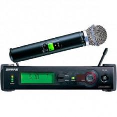 Microfon profesional SHURE SLX BETA 58A - Fara fir (Wireless)
