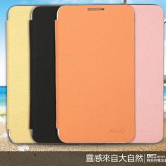 Flip Cover din piele pentru Samsung Galaxy Note N7000 / I9220 - crem - Husa Telefon Kalaideng