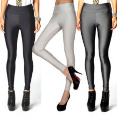 Colanti dama, universala - Colanti pantaloni leggings spandex lucios oferta 2015 diverse culori