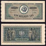 1000000 LEI 16 APRILIE 1947 - UNC DE COLECTIE, An: 1941